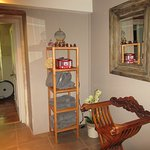 Espace détente jacuzzi, sauna, nombreuses serviettes, lecteur CD à disposition pour musique ambi