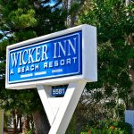 Wicker Inn Beach Resort - monument sign