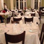 Restaurante do hotel amplo e muito agradável