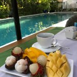 breakfast by the main pool