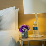 Complimentary water with your stay