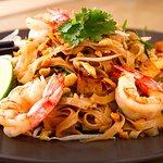 Phad Thai de camarão