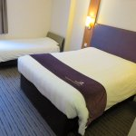 Twin room 310 - Premier Inn London City Old Street (03/Jun/17).