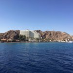 Here is a view of the hotel from one of the boat rides you must take.