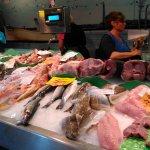 Mercado de Santa Catalina. Pescados