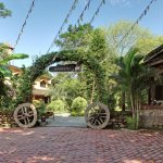 Entrance of Sapana Village Lodge, Chitwan Nepal