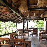 Restaurant of Sapana Village Lodge, Chitwan Nepal