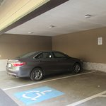 Covered Parking,  Whispering Woods Resort, Welches, Oregon