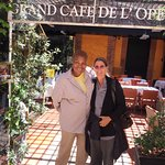 Visiting my friend of more than 50 years who lives in Toulouse, my husband & I stayed & ate here