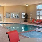 Come take a dip in our Indoor Heated Pool & Hot Tub.  Pool open daily until 11:00PM.