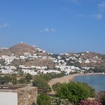 The view to Chora and Yialos beach