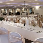 Our newly refurbished ballroom.