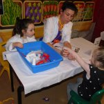 A full Wannabeez Doctor's Surgery. There is a different role play session every Thursday 10.30am