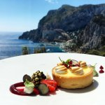 Dessert: Lemon Tart (Taken in Dining Room)