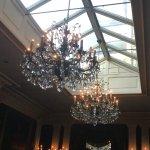 Dining room skylight and candellabra lights