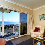 Superior Mount Fyffe Suite opening out onto a balcony with a spectacular view!