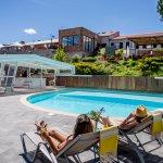La piscine en accès libre