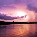 con filtro, puesta de sol