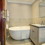 Stable Manor house rooms bathroom at Botlierskop