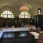 Schloss Purschenstein Restaurant Remise Foto