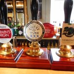 Some nice local beers on draught.