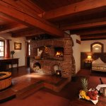 Superior Luxury Double Room, with fire place, well, indoor garden