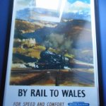 Great classic framed railway poster.