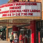 The historic Artcraft Theater in downtown Franklin. Don't miss it!
