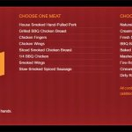 The Power Hour Lunch Menu