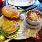Elk Burger & Buffalo Chili