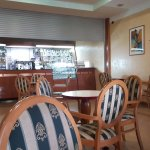 Cafe located next to reception. Open daily for coffee, snacks and alcoholic drinks.