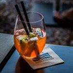 Drink in the Safari Bar