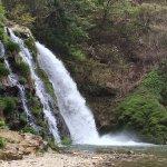 温泉街の一番奥にある白滝