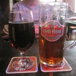 Great beers at the Hell Hunt pub in Tallinn