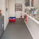 Amenity room - books, games, dvds, laundry facilities & tourist information