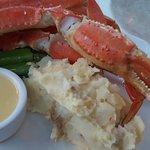 alaska dungeness crab & Oyster at Elliot's
