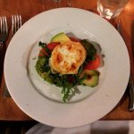 Starter with goats cheese