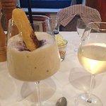 Zabaione und ein gutes Glas Lugana