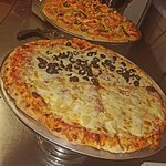 Pizzas with Homemade Gourmet Toppings