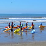 Sit-on-top Sea Kayaking