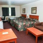 Double Queen Suite features 2 Queen Beds and Sofa Sleeper