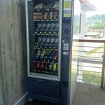 distributore automatico di bevande e snack al 2°piano dell'hotel