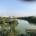 View of Lake from Coffe bar 1 min from Hotel