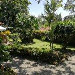 The beautiful gardens of Casa Marcellino