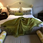 Our amazing room at Hotel Yountville!