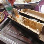 Baboo roasted rice
