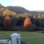 Autumn colour in the Drakensberg