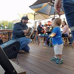 Even the smallest amigeauxs have a blast on the patio! Join us at Agave for a family-friendly at
