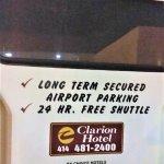 Foto de Clarion Hotel Airport