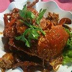Chilli crab (1.3kg - 2 crabs)